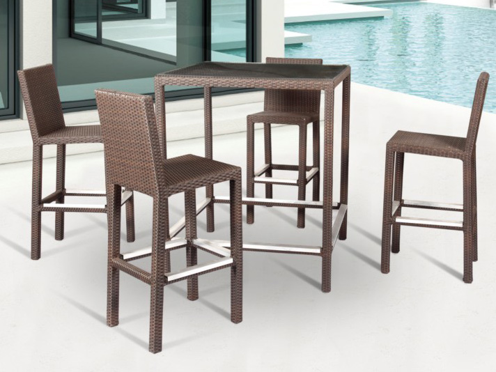 B420;B520 Bar chair& Bar table