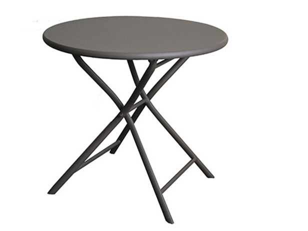 D534 Outdoor folding table round